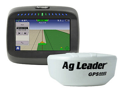 Ag Leader Compass with 6000 GPS Receiver Lightbar field mapping