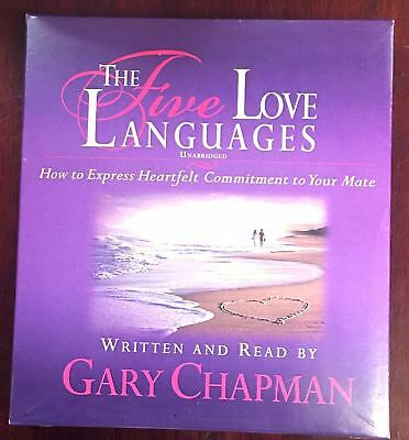 The Five Love Languages By Gary Chapman 4 Cds Unabridged Brand New