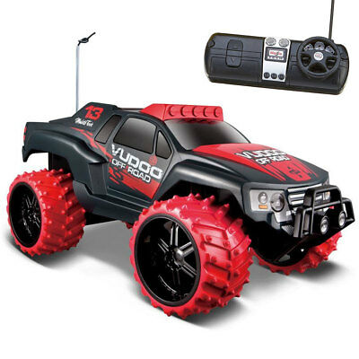 Macchina Radiocomandata Tech Off Road 1:16 Vudoo Maisto 82067 Colori Assortiti