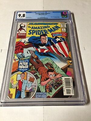 Amazing Spider-man -1 Minus 1 Flashback Month Cgc 9.8 White Pages