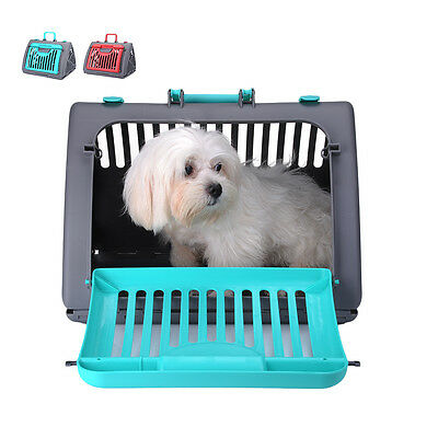 New Dog Crate Soft Pet Carrier Foldable Training Kennel Portable Cage House