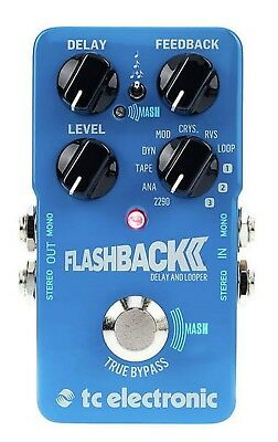 Tc Electronic Flashback 2 Delay Effetto Delay & Looper A Pedale (Novita')