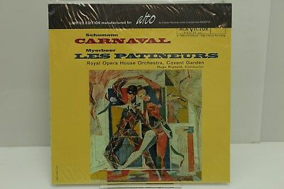 "Schumann LP ""CARNEVAL"" alto, Limited Edition, SEALED"