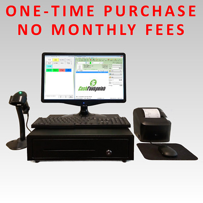 FULL Turn-key Retail Point of Sale System, Complete w/ POS Software & Hardware