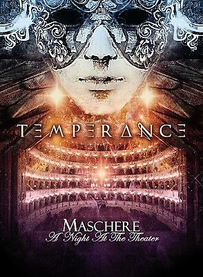 Temperance - Maschere-A Night At The Theater   Dvd+Cd New+