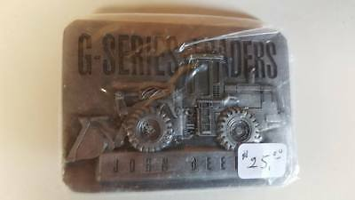 Vintage 1994 John Deere  Belt Buckle   G Series Leaders New USA