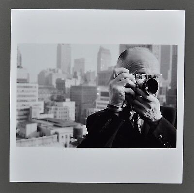 Dennis Stock Magnum Archival Photo Henri Cartier-Bresson NYC 1961 Estate Stamped