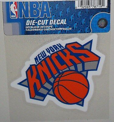 official photos f3f58 7a5b5 New York Knicks 4 X 4 Die-Cut Decal Officially Licensed Product