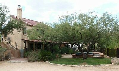 17 Acre Hilltop Estate $829,000 Tucson, AZ Home and 4 building sites