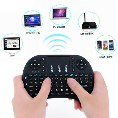 Mini Wireless Keyboard Fly Air Mouse Touchpad For Android / Smart TV / Box PC US