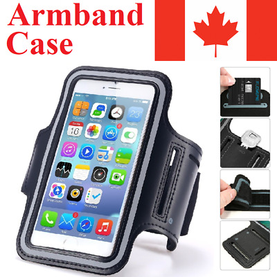 For iPhone Armband Case Jogging Sport Run Gym Running Band Holder