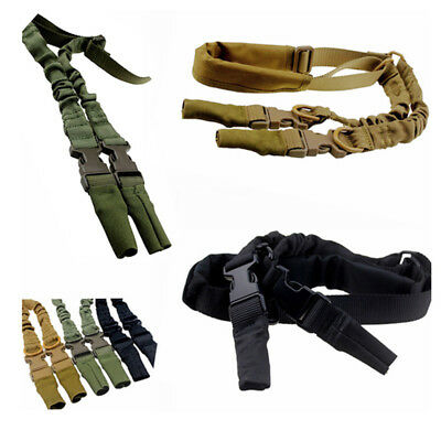 New Tactical Sling Adjustable Durable Belt Weapon Strap Ambidextrous Safety Rope
