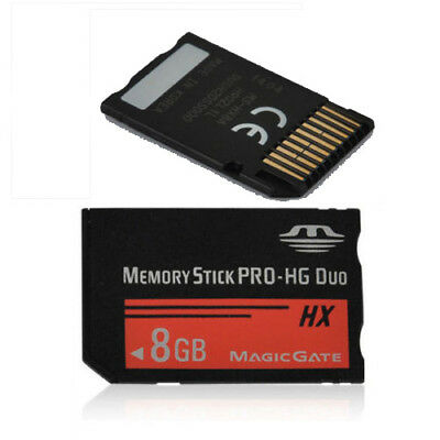 8GB Memory Stick MS Pro Duo Memory Card For Sony All PSP And Cybershot Camera
