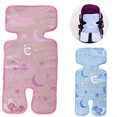 Baby Mat Car Safety Seat Belt Cover Infant Stroller Pushchair Cushion Liner Pads