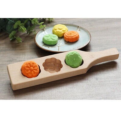 Flower Patterns fFondant Mold Mooncake Mold Springerle Cookie Pastry Tool