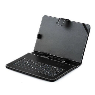 USB Keyboard Leather Stand Case+ Stylus For Microsoft Surface RT Win8 Black Z1U2