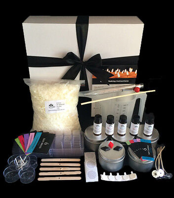 Soy Candle Making Kit with POURING JUG, Melts and Labels