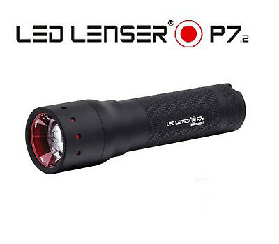LED LENSER P7.2 Flashlight Torch Linterna Antorcha 320 lumens Retail Box