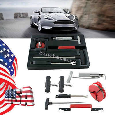 US Auto 7 Pcs Windshield Removal Tool Kit Car Window Glass Removing Tools bundle