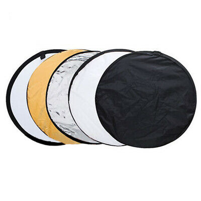 5pcs 80cm Collapsible Multi Light Circular photography Reflective board PK
