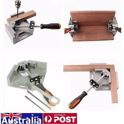 90° Corner Clamp Hand Right Angle Welding Woodworking Vice Wood Metal Tool