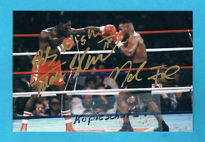 Tyson Mike & Frank Bruno     1-6/0016