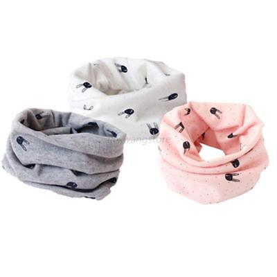 Toddler Kids Baby Winter Warm Scarves Neck Wraps Ring Scarf Shawl Neckerchief UK