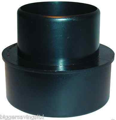 CHARNWOOD 100/75RC DUST EXTRACTOR EXTRACTION REDUCING CONE COUPLING 100mm 75mm
