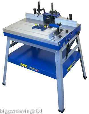 Charnwood W015P Floorstanding Router Table Package Deal With Sliding Table