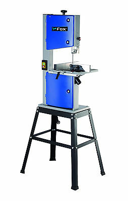 "Fox F28-186A 10"" Cast Iron Bandsaw 240V - 169.96"" Depth Of Cut - 3 Year Warranty"