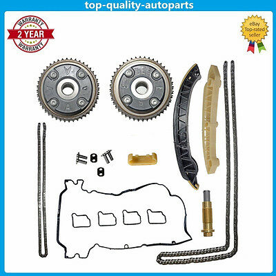 Camshaft Cam Gears adjuster Timing Chain Kit For Mercedes 180 180K 1.8L M271