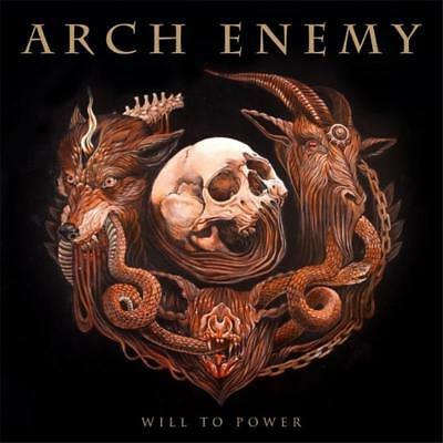 ARCH ENEMY WILL TO POWER 1 Extra Track DIGIPAK CD NEW