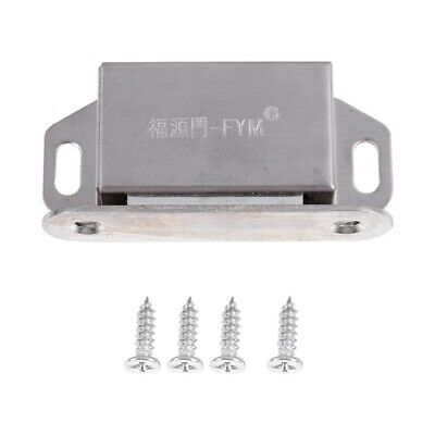 V12313 WEIYU Stainless Steel Silver Tone Cupboard Door Magnetic Catch Latch PF