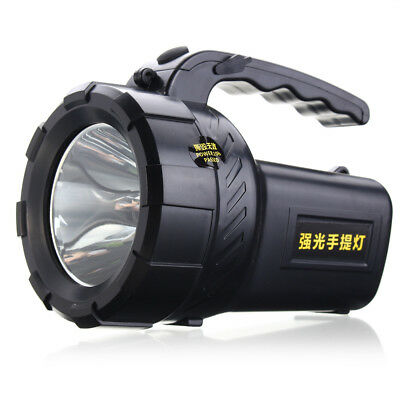 10W Rechargeable LED Work Night Light Torch Spotlight Hand Flash Lamp Camping