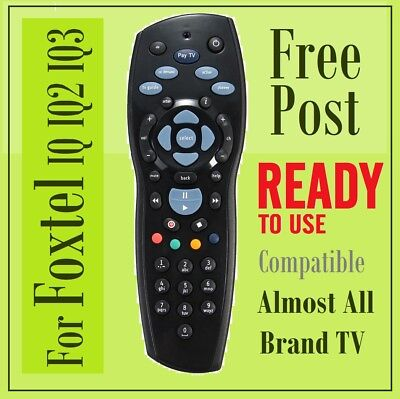New Foxtel Replacement Remote for Foxtel IQ IQ2 IQ3 & Almost Another Brands TV