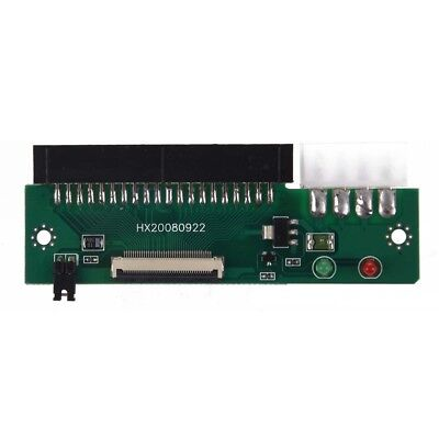 Micro SATA Cables - ZIF CE 1.8 Micro Drive to 3.5 IDE 40 Pin Adapter H2W2