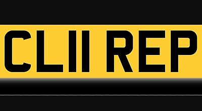 Cl11 Rep Clare Claire Cherished Private Number Plate
