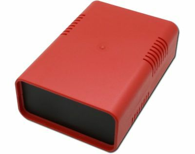 Half Shells CASING EURO Box Small 95 x 135 x 45 Red Plastic Casing