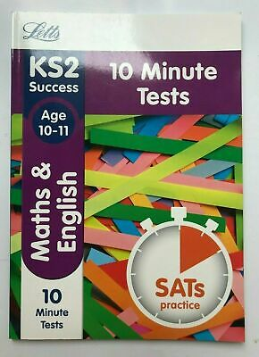 LeapAhead English & Maths 2 Workbook Children Age 9-10 KS2 Year 5 Primary School