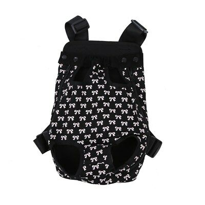 Ventral Carry Bag For Dogs Cat Black L F9E2