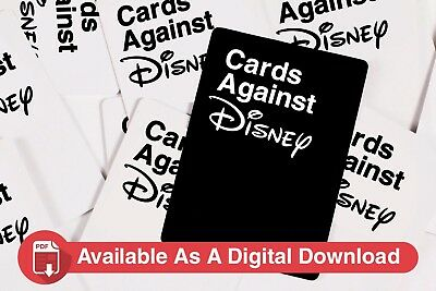 Cards Against Disney - Unofficial Disney Edition of Cards Against Humanity