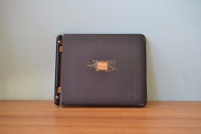Vintage The Goliath-Thong Binder 1938 leather binderfolder art deco