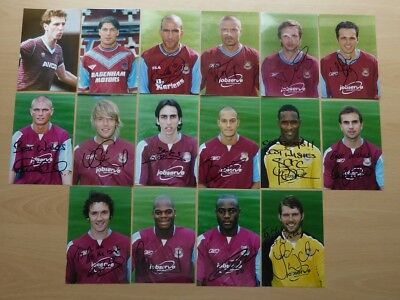 West Ham United Signed Club Photos - Individually Priced