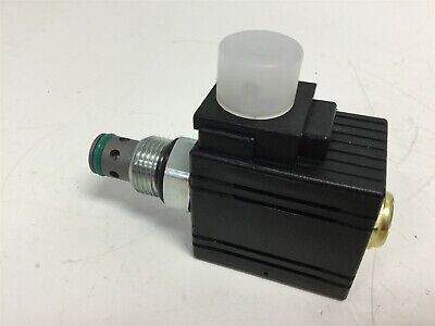 New Parker DSL02NUD024D Solenoid Cartridge Valve, Normally Closed, Voltage 24VDC