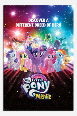 My Little Pony Discover A Different Breed Of Hero Poster - Size 36 x 24 Inches