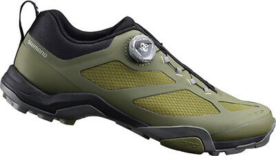 Shimano MT7 SPD Mountain Touring Bike Shoes Olive