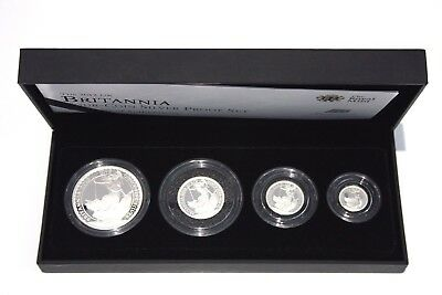 2012 Britannia Silver Proof  Coin Set Royal Mint Boxed & Certified