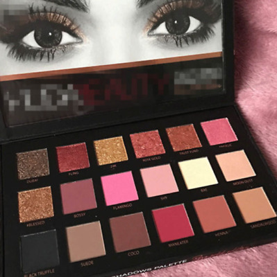 18 Colors Mixed Pearlescent Matte Eyeshadow Eye Shadow Make Up Textured Pallette