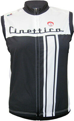 Cinettica Edge Womens Wind Vest Black/White