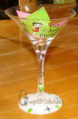 Fun and Flirty (Betty Boop by Westland) Martini Glass 7-oz.